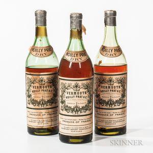 Noilly Pratt Dry Vermouth, 3 30/32 quart bottles