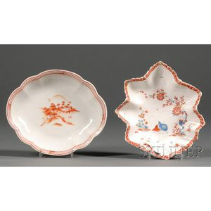 Two Small Chinese Export Porcelain Dishes