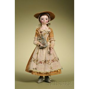Queen Anne Lady Doll