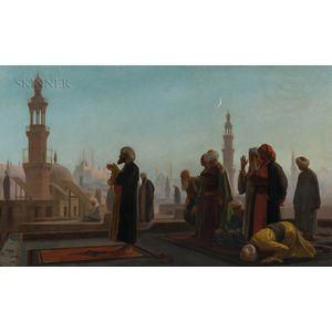 Jean-Léon Gérôme (French, 1824-1904)      Evening Prayer