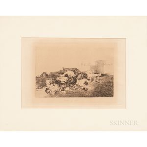 Francisco José de Goya y Lucientes (Spanish, 1746-1828)      Tonto y mas