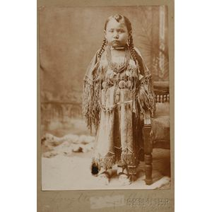Photograph of a Cheyenne Girl