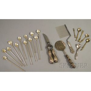 Group of Silver Table and Decorative Items