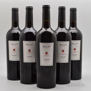 McCay Cellars, 5 bottles