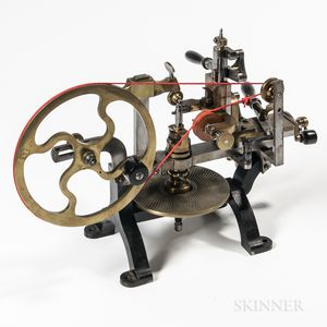 19th Century Wheel-cutting Engine