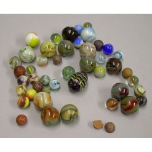 Small Lot of Marbles