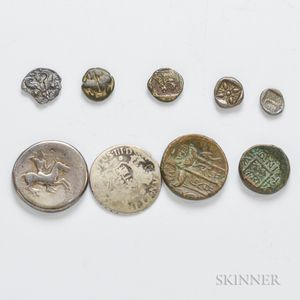 Eight Ancient Coins