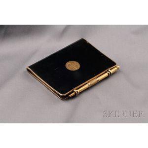 Silver-gilt and Enamel Writing Book, Cartier Paris