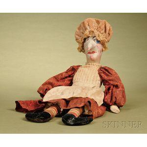 Folk Art Judy Cloth Doll