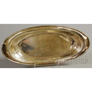 Gorham Sterling Silver Bread Tray