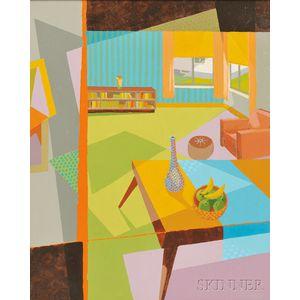 Alfred McNamara (American, 1911-1994)      Interior 7-79