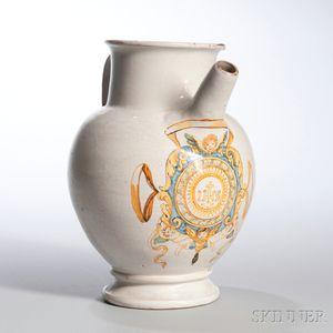 White-glazed Pottery Jug