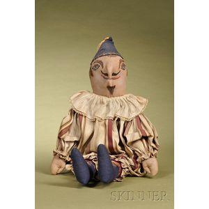 Folk Art Punch Cloth Doll
