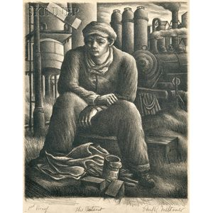 Paul Raphael Meltsner (American, 1905-1966)      The Outcast.
