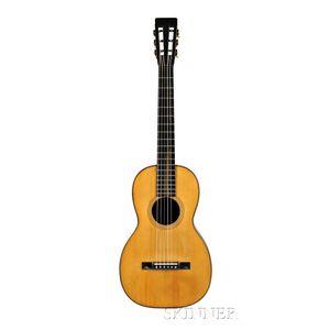 American Guitar, C.F. Martin & Company, Nazareth, c. 1870, Style 3-17