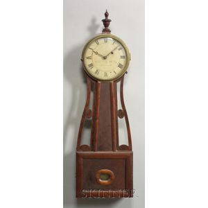 "Patent Timepiece or ""Banjo"" Clock"