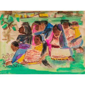 Annette Nancarrow (American, 1907-1991)      Planting, Mexico