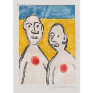 Robin Winters (American, b. 1950)      Two Figures