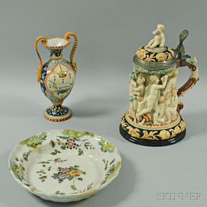 Three Italian Ceramic Items