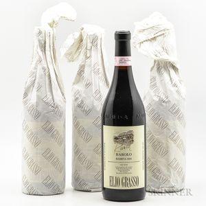 Elio Grasso Barolo Runcot Riserva 2004, 4 bottles