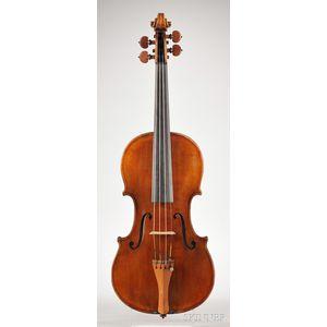 Italian Violin, Vincenzo Postiglione, Naples, c. 1910
