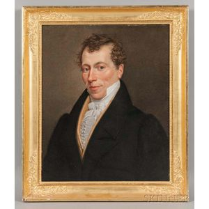 Anglo/American School, 18th/19th Century       Portrait of a Gentleman.