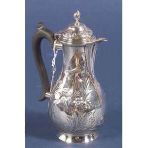 George II Silver Hot Water Pot
