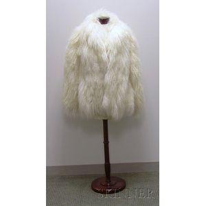 White Alpaca Jacket