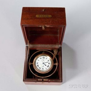 Elgin Two-day Deck Watch