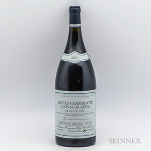 Bruno Clair Gevrey Chambertin Clos St. Jacques 2011, 1 magnum