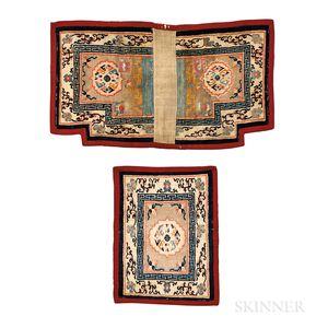 Tibetan Saddle Rug Set