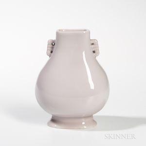 Off-white-glazed Vase