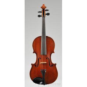 American Violin, Henry F. Schultz, Boston, 1916