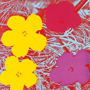 Andy Warhol (American, 1928-1987)      Flowers
