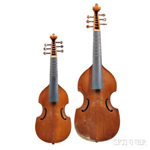 Two Violas da Gamba, Treble and Alto, c. 1960