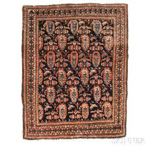 Antique Sarouk Mat
