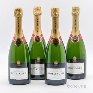 Bollinger Brut Special Cuvee NV, 4 bottles