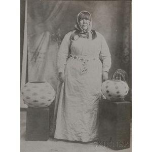 Photograph of Famous Washo Basket Maker Dat So La Lee,   (Louisa Keyser)