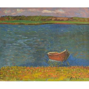 Anders Gustave Aldrin (American, 1889-1970)      Shore Line, Rhode Island