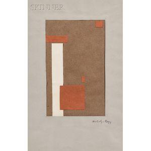 László Moholy-Nagy (Hungarian, 1895-1946)      Überschneidung   [Intersection/Overlap]
