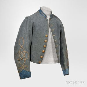 Richmond Depot Type II Jacket from 2nd Lieutenant John James Haines, 2nd Virginia Infantry
