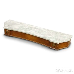French-style Wall-mounted Marble-top Console