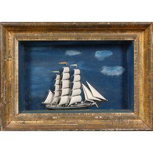 Framed Ship Diorama