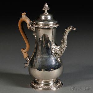 George III Silver Coffeepot