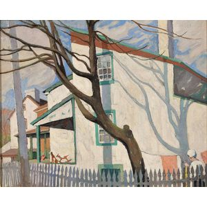 Attributed to Mildred Bunting Miller (American, 1892-1964)      Wash Day