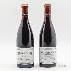 Domaine de la Romanee Conti Richebourg 2010, 2 bottles