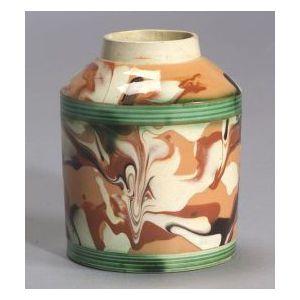 Mochaware Tea Caddy
