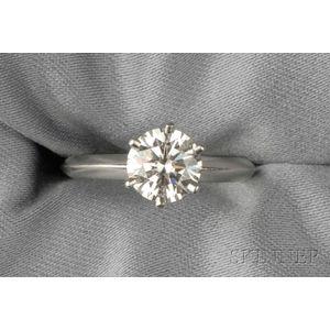 Platinum and Diamond Solitaire, Tiffany & Co.