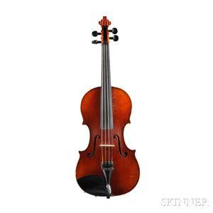 Modern German Violin, Roman Teller, Erlangen, 1972,  Model No. 275MA