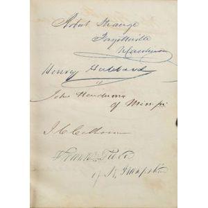 (Autograph Book, the Twenty-sixth Congress of 1840)